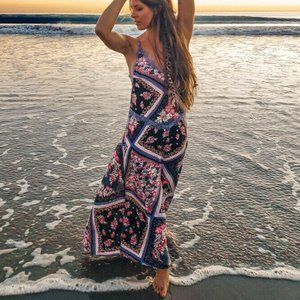 NWT Free People Stevie Floral Printed Maxi Dress